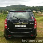 2015 Mahindra XUV500 (facelift) rear review