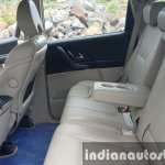 2015 Mahindra XUV500 (facelift) second row legroom review