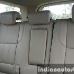 2015 Mahindra XUV500 (facelift) second row seats review