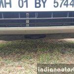 2015 Mahindra XUV500 (facelift) skid plate review