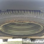 2015 Mahindra XUV500 (facelift) spare tire review