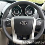 2015 Mahindra XUV500 (facelift) steering wheel review