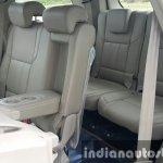 2015 Mahindra XUV500 (facelift) third row seat access review