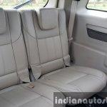 2015 Mahindra XUV500 (facelift) third row seats review