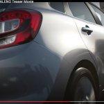 2015 Suzuki Baleno rear and taillight teaser
