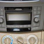 2015 Suzuki Ertiga facelift audio system at the Gaikindo Indonesia International Auto Show 2015