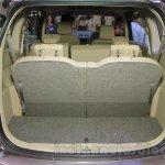 2015 Suzuki Ertiga facelift boot space at the Gaikindo Indonesia International Auto Show 2015