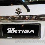 2015 Suzuki Ertiga facelift chrome applique at the Gaikindo Indonesia International Auto Show 2015
