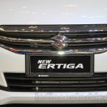 2015 Suzuki Ertiga facelift chrome grille at the Gaikindo Indonesia International Auto Show 2015