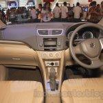 2015 Suzuki Ertiga facelift dashboard at the Gaikindo Indonesia International Auto Show 2015