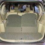 2015 Suzuki Ertiga facelift flat folding seat at the Gaikindo Indonesia International Auto Show 2015