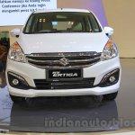 2015 Suzuki Ertiga facelift front at the Gaikindo Indonesia International Auto Show 2015