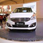 2015 Suzuki Ertiga facelift front fascia at the Gaikindo Indonesia International Auto Show 2015