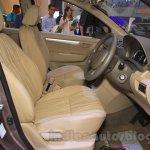 2015 Suzuki Ertiga facelift front seats at the Gaikindo Indonesia International Auto Show 2015