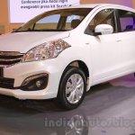 2015 Suzuki Ertiga facelift front three quarter at the Gaikindo Indonesia International Auto Show 2015