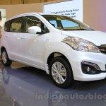 2015 Suzuki Ertiga facelift front three quarter left at the Gaikindo Indonesia International Auto Show 2015