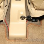 2015 Suzuki Ertiga facelift rear 12V power socket at the Gaikindo Indonesia International Auto Show 2015