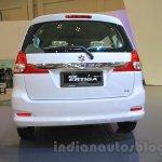 2015 Suzuki Ertiga facelift rear at the Gaikindo Indonesia International Auto Show 2015