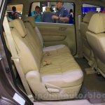 2015 Suzuki Ertiga facelift rear seat at the Gaikindo Indonesia International Auto Show 2015