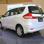 2015 Suzuki Ertiga facelift rear three quarter at the Gaikindo Indonesia International Auto Show 2015