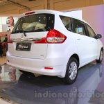 2015 Suzuki Ertiga facelift rear three quarter right at the Gaikindo Indonesia International Auto Show 2015