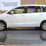 2015 Suzuki Ertiga facelift side at the Gaikindo Indonesia International Auto Show 2015