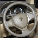 2015 Suzuki Ertiga facelift steering wheel at the Gaikindo Indonesia International Auto Show 2015