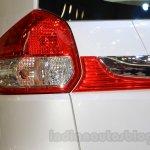 2015 Suzuki Ertiga facelift taillamp at the Gaikindo Indonesia International Auto Show 2015