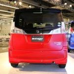 2015 Suzuki Solio Bandit rear