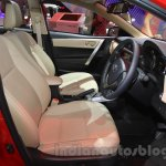 2015 Toyota Corolla Altis TRD Sportivo front cabin at the 2015 Gaikindo Indonesia International Auto Show