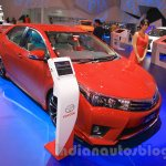 2015 Toyota Corolla Altis TRD Sportivo front quarter at the 2015 Gaikindo Indonesia International Auto Show