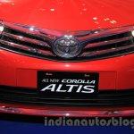 2015 Toyota Corolla Altis TRD Sportivo grille at the 2015 Gaikindo Indonesia International Auto Show