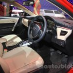 2015 Toyota Corolla Altis TRD Sportivo interior at the 2015 Gaikindo Indonesia International Auto Show
