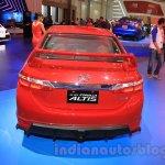 2015 Toyota Corolla Altis TRD Sportivo rear at the 2015 Gaikindo Indonesia International Auto Show