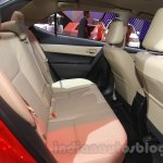 2015 Toyota Corolla Altis TRD Sportivo rear cabin at the 2015 Gaikindo Indonesia International Auto Show