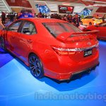 2015 Toyota Corolla Altis TRD Sportivo rear quarter at the 2015 Gaikindo Indonesia International Auto Show