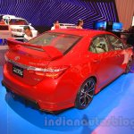 2015 Toyota Corolla Altis TRD Sportivo rear three quarter at the 2015 Gaikindo Indonesia International Auto Show