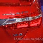 2015 Toyota Corolla Altis TRD Sportivo taillamp at the 2015 Gaikindo Indonesia International Auto Show
