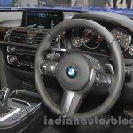 2016 BMW 3 Series steering wheel at the 2015 Gaikindo Indonesia International Auto Show (GIIAS 2015)