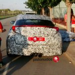 2016 Honda Civic 5 Door notchback rear spotted in Spain