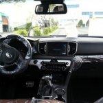 2016 Kia Sportage interior leaked in new spyshot