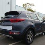 2016 Kia Sportage rear three quarter leaked in new spyshot