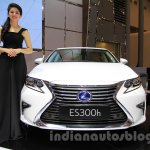 2016 Lexus ES300h front at the 2015 Gaikindo Indonesia International Motor Show (2015 GIIAS).