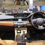 2016 Lexus ES300h interior at the 2015 Gaikindo Indonesia International Motor Show (2015 GIIAS).
