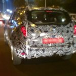 2016 Renault Duster rear quarter spotted testing
