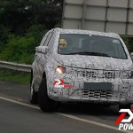 2016 Tata Hexa SUV front spotted testing