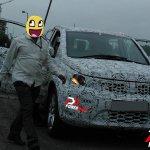 2016 Tata Hexa SUV spotted testing
