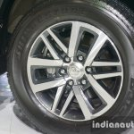 2016 Toyota Fortuner alloy wheel pattern at Thailand Big Motor Sale