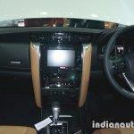 2016 Toyota Fortuner dashboard at Thailand Big Motor Sale