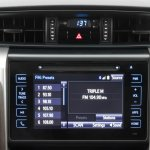 2016 Toyota Fortuner for Australia infotainment display interior revealed
